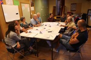 Première réunion VEGA Discussion